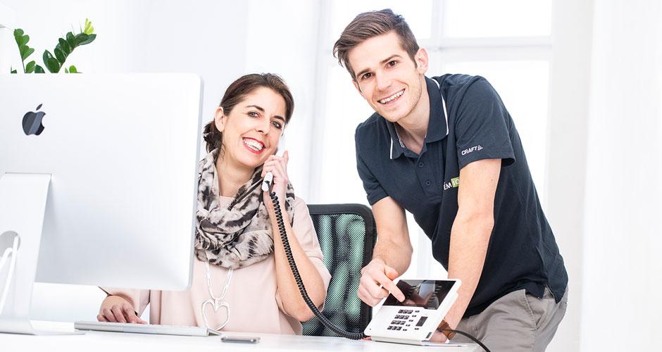 Telefonanlage von der IT-Firma sytemIQ