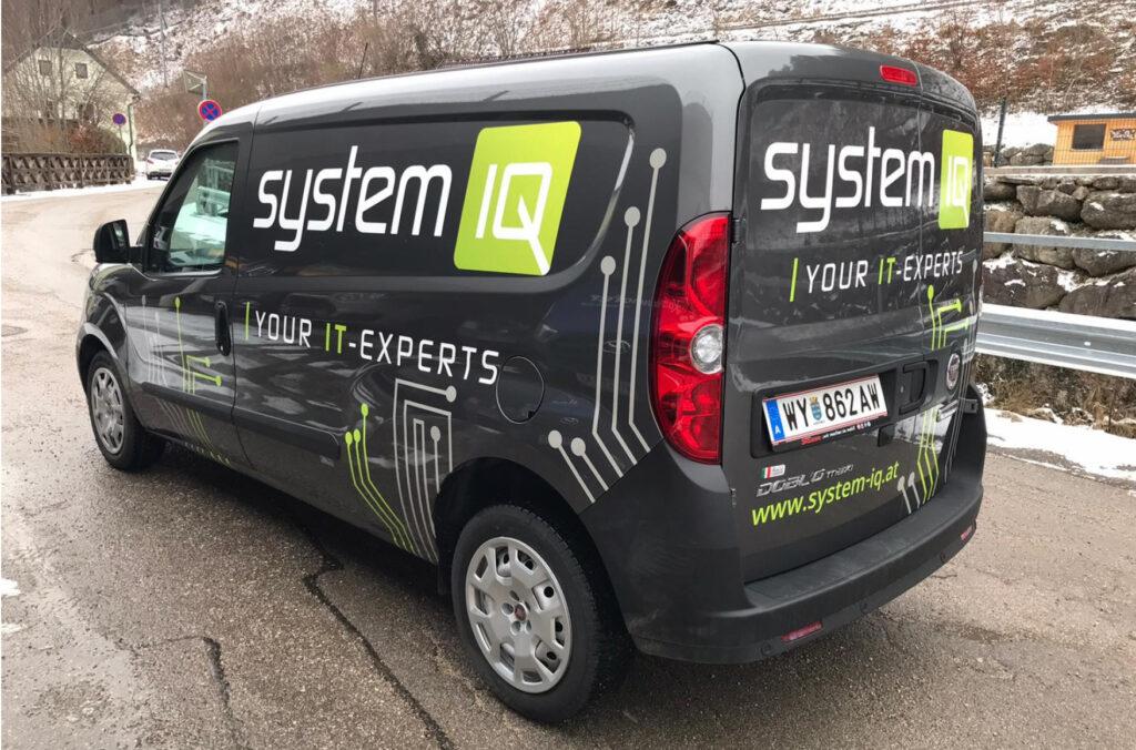Fahrzeugbeklebung systemIQ